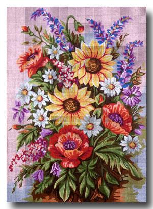 fiori di campo mezzo punto