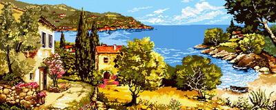 Villa al mare mezzo punto
