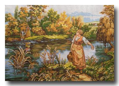 donne al fiume mezzo punto